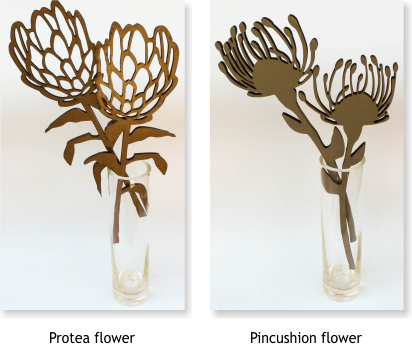 South African Gifts Wooden Flora Page
